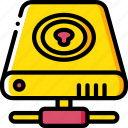 data, drive, hard, locked, recovery icon