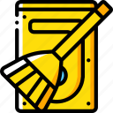 clean, data, drive, hard, recovery icon