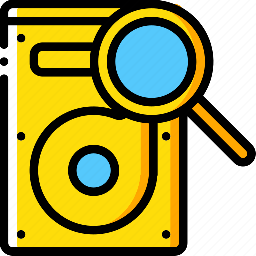 Data, drive, hard, recovery, search icon - Download on Iconfinder
