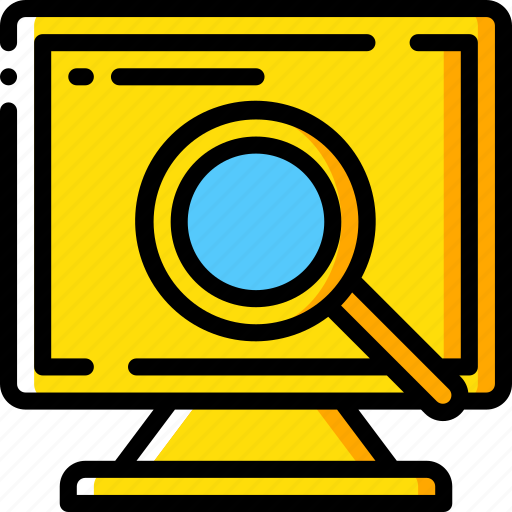 data, desktop, recovery, search icon