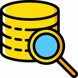 data, drive, recovery, search icon
