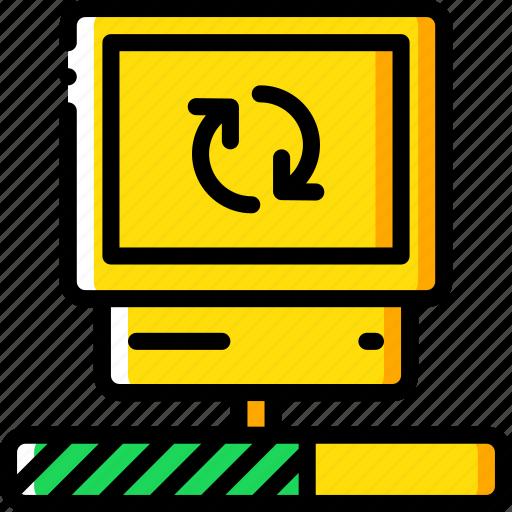 data, desktop, recovery, sync icon