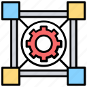 automated solutions, automation, energy management, engineering, mechanism icon