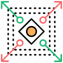 database scalability, geometric design, pattern formation, scalability, scalable system icon