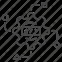 api, app, code, data, data science icon