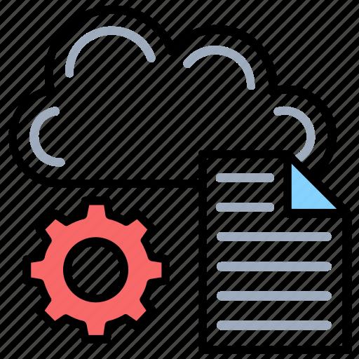 cloud data management, cloud document, cloud file, cloud storage, shared docs icon