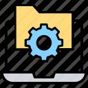 data processing, file management, folder configuration, folder directory, folder setting icon