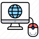internet access, internet connection, internet of things, online global communication, online presence icon
