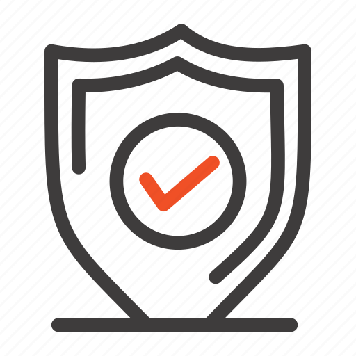 confirm, protection, secure, security icon