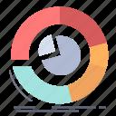 analysis, analytics, business, chart, diagram, pie icon