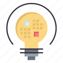 bulb, data, insight, light