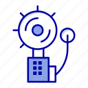 alarm, alert, bell, fire, intruder icon