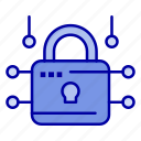 louck, loucked, secure, security icon