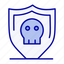 plain, secure, security, shield icon
