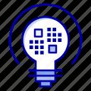 bulb, data, insight, light