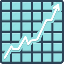 achievement, chart, graph, growth, increase, increasing stocks graphic, success
