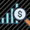 achievement, data, investor, presentation, profit analysis, progress bar, success
