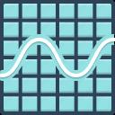 amplitude, equalizer, frequency, graphic, sine wave graphic, wave, waveform
