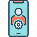 app, application, creative, interface, setting, user, user setting interface