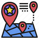 location, map, place, predicting, retail, store icon