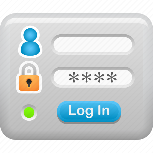 box, data, log in, login, password, security icon