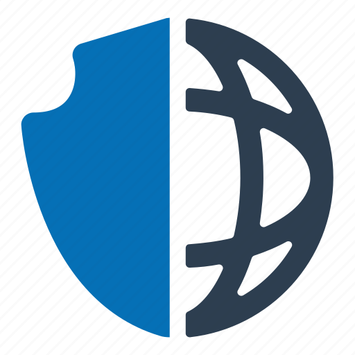 browser, internet, security icon