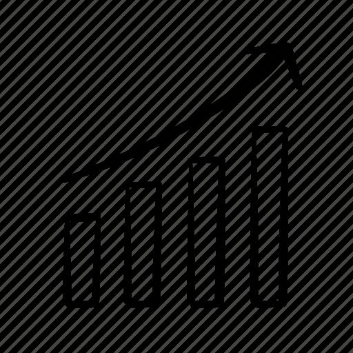 bar chart, column graph, data, handdrawn, infographic, statistics, stats icon