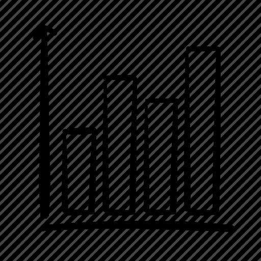 bar chart, column graph, data, handdrawn, infographic, statistcs, stats icon