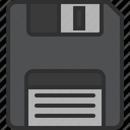 data, disk, diskette, floppy, save, storage icon