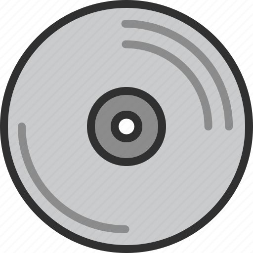 cd, data, dvd, media, music, sound, storage icon