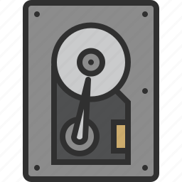 data, disk, drive, harddisk, harddrive, hdd, storage icon