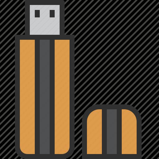 data, device, disk, memory, pendrive, storage, usb icon