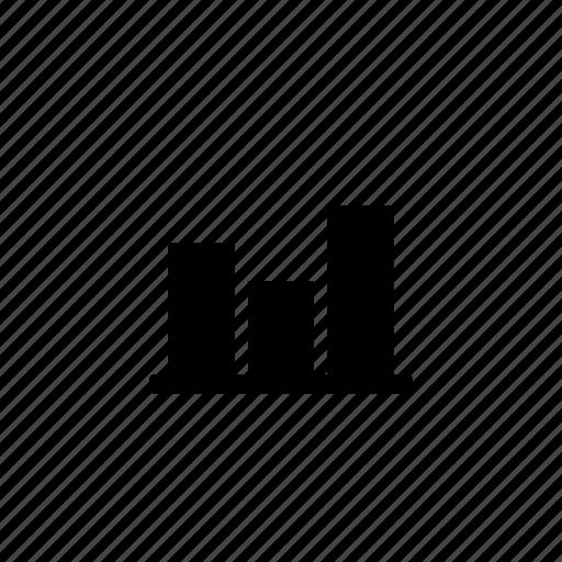 bar, data, irregular icon
