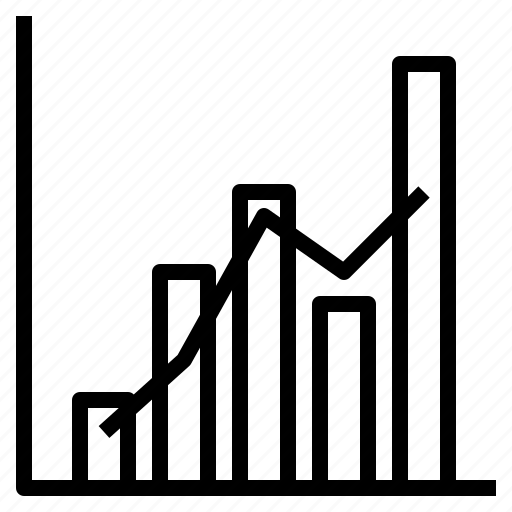 bar, chart, combination, graph, line icon
