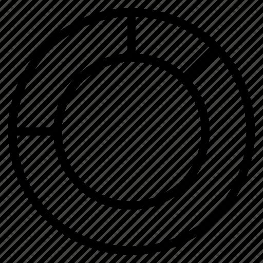 diagram, doughnut, spoke, wheel icon