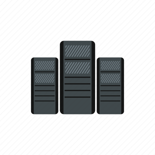 business, case, computer, equipment, server, system, technology icon