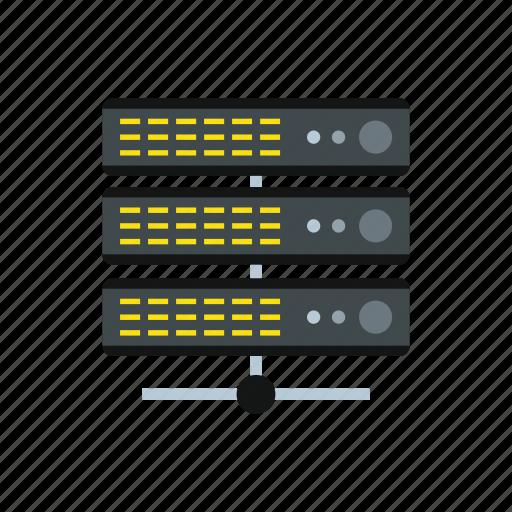 data, database, information, internet, server, storage, technology icon