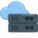 cloud, database, hosting, network, server, storage, technology icon