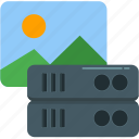 database, hosting, image, network, server, storage, technology