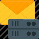 database, hosting, mail, network, server, storage, technology