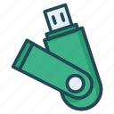 drive, flash, storage, usb icon