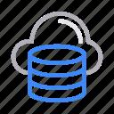 cloud, database, online, server, storage