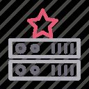 database, favorite, server, star, storage