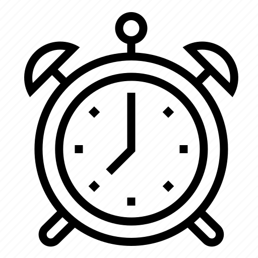 alarm, clock, date, time icon