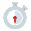 30s, date, stopwatch, time, timer icon