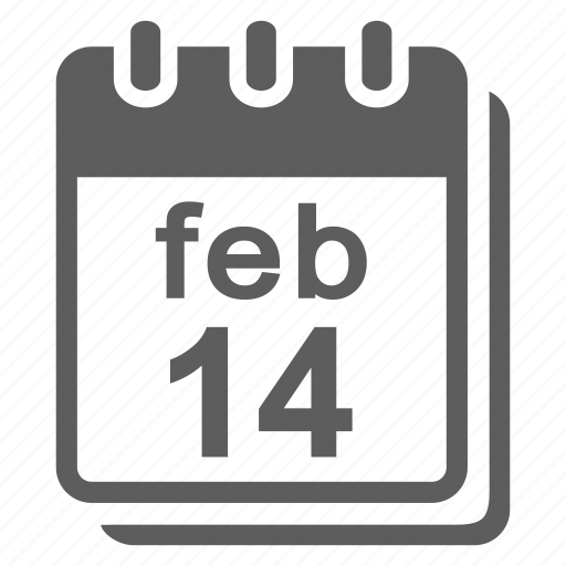 calendar, event, heart, love, month, schedule, time, valentine icon
