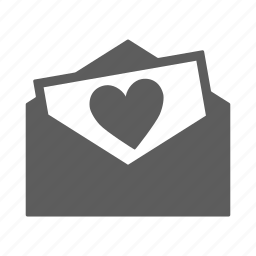 document, email, envelope, letter, love, mail, message, text icon