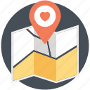 dating destination, dating point, location for date, love place, meetup icon