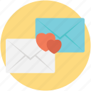 connection, love letters, love message, message of love, sending letters icon