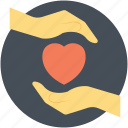 heart, power of love, preservation of love, preserving love, protecting love icon